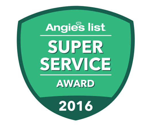 Angieslist Super Award Winner